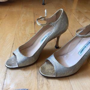 Manolo Blahnik Dress Heels
